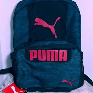 Puma backpack & lunch bag set